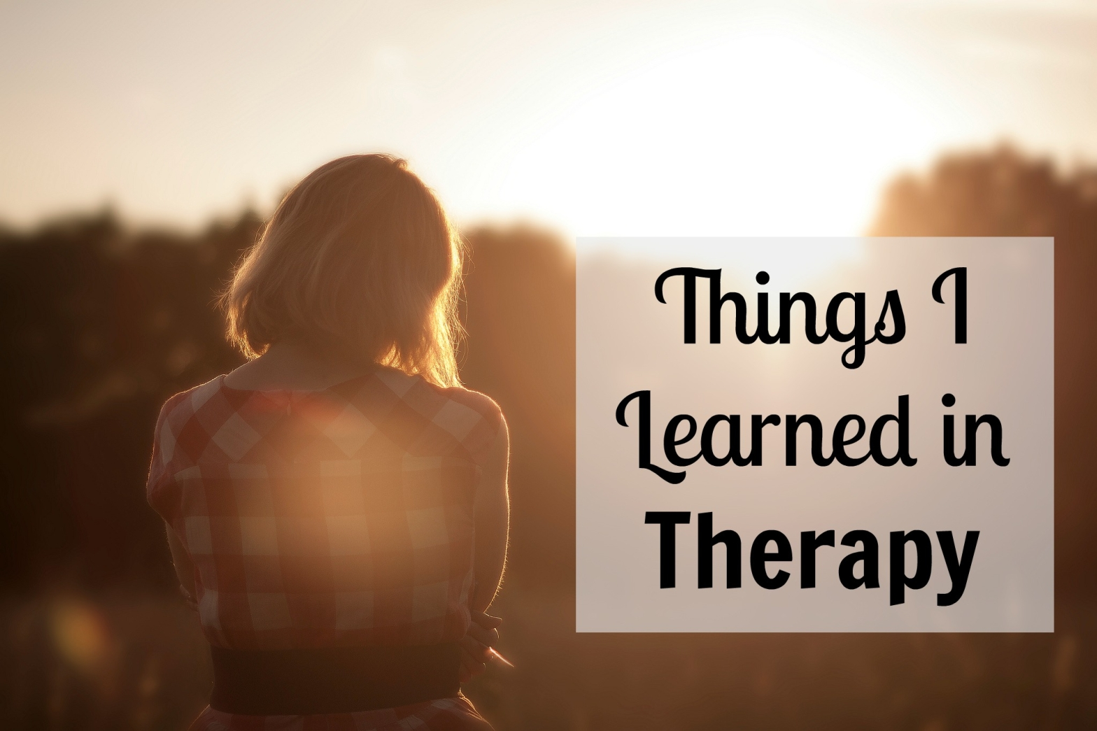Things I Learned in Therapy image